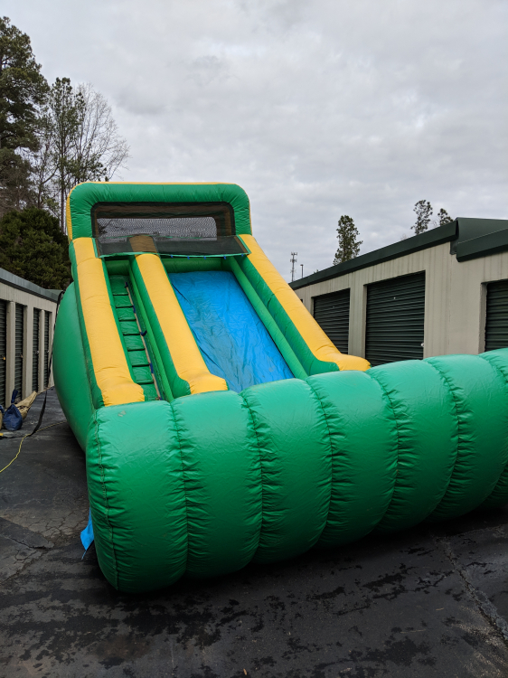 14' Super Splash Water Slide - $325